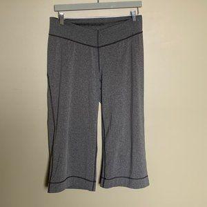 Arc'teryx grey wide leg crop yoga pants
